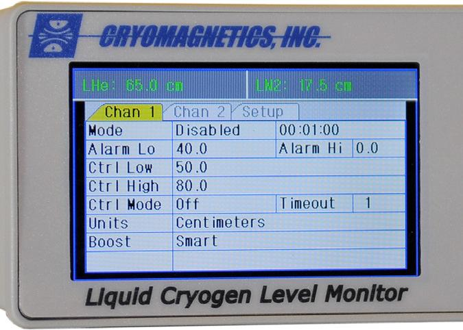 LM-510. Liquid Cryogen evel Monitor